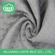 100% polyester large largeur tissé classique draperie tissu noir