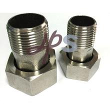 Protection de l'environnement en acier inoxydable 304 connecteur du compteur d'eau