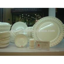 Elegante de cerámica fina de cerámica china establece dinning ware