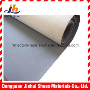 PVC reflektierendes Ledergewebe für Schuh