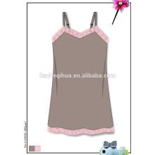 Мода случайные бесшовные летнее платье девушки, seamfree сексуальное ночное платье