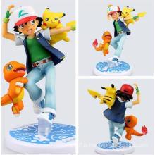 Eco-Friendly Индивидуальные Pokemon ПВХ Мини Действие рис куклы Детские игрушки