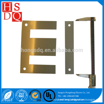 Cold Rolled EI Electrical Silicon Steel Sheet magnetic lamination