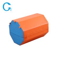 Tapis de forme de compétence en forme de coin octogonal Gym Soft Fitness
