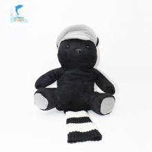 Multifunction customization Cartoon black bear hand puppet