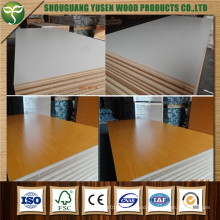 18mm Thickness MDF with Melamine Face on Both or One Side