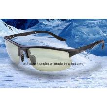 Tr90 Polarisierte Sonnenbrille Angeln Gläser Lokomotive Gläser
