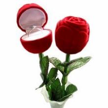 Кольцо с розовым кольцом для Дня святого Валентина (MX-292)