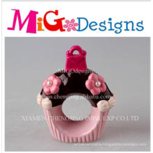 Wholesale Cupcake Napkin Pink Ceramic Canister