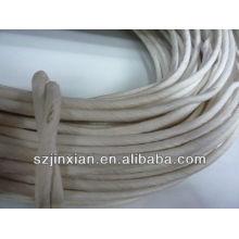 фабрики доставка 2 мм в natrual коричневый круглый бумажный шнур