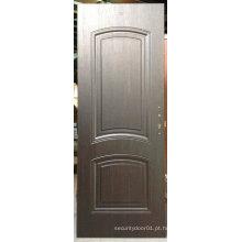Interior do design simples Porta do painel americano