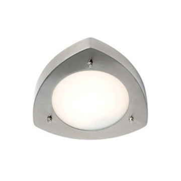 Gris blanco simple LED luz de pared al aire libre