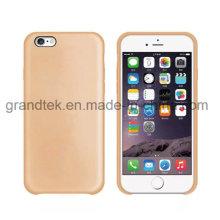 La última cubierta ultrafina de lujo para iPhone 6, para la cubierta de la PU iPhone6