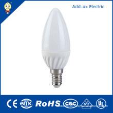 Lâmpada da vela do diodo emissor de luz do UL 220V SMD 3W E14 do CE do CE