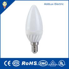 Одобренный UL SMD СИД 3ВТ 220В E14 светодиодные свечи лампы