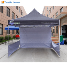 White commercial pop up gazebo canopy tent for promotion