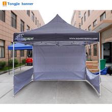 Branco comercial pop up gazebo dossel tenda para promoção