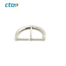 Hot sale bag hardware custom aluminum strap anodized slide backpack buckle d shape ring buckle belt buckle fashion