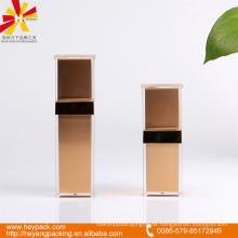 30 / 50ml goldene quadratische Airless-Pumpe Flasche