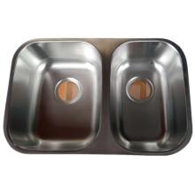 18 Gauge double bowl 60/40 kitchen sink
