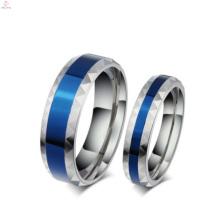 Романтические голубые пару колец, последний делает мода ювелирные изделия палец кольцо конструкции