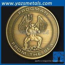 изготовленный на заказ металл ихтиандра вызов монета