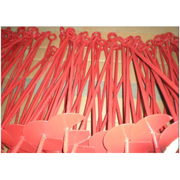 Powder Coated Ground Anchors