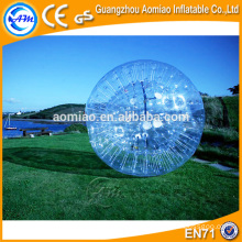 2.8*1.8m safety belt inflatable human hamster ball / zorb ball with free repair kit