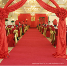 red exhibition floor carpet Beautiful wool and nylon