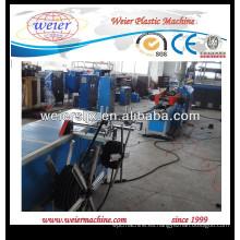 Alta velocidad de PVC corrugado extrusión tubería