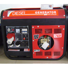 3gf-Lh02 CE Three Phase 220V/380V Diesel Generator with Handle and Wheels (3KW)