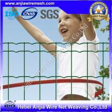Высокое качество ПВХ покрытием Голландии проволока сетка забор с (CE и SGS)