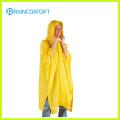 Deluxe Yellow PVC Rain Poncho