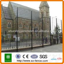 PVC revestido 358 Segurança Vedação, Anti-climb High Security Fence