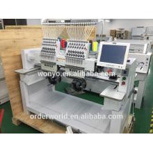 2 head computerized embroidery machine 9-12-15 colors price,BEST embroidery machine price