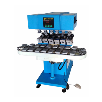 Plastics toys pad printing machine with inkcup