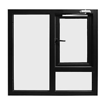 Promotional Various Durable Using Cheap Black Look Steel Framed Windows