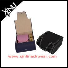 Corbata de cuero Set de regalo Corbata