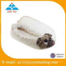 China al por mayor precio de fábrica de invierno elegante de lana caliente zapatos de interior zapato sandalia interior invierno