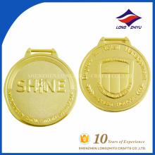 Оптовая продажа профессиональный золотую медаль сувенирная батальон