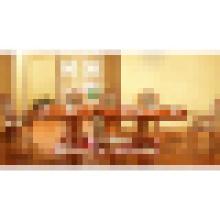 Mesa de comedor con silla de comedor de madera