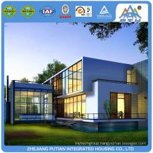 Quickly assemble low cost modern prefab light steel villa