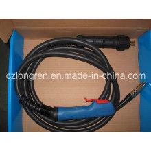 Binzel MB 15ak with Trafimet Handle Complete MIG Torch for Welding