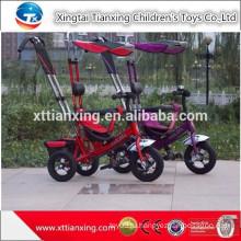 Детские игрушки Детские коляски Baby трицикл 3 в 1 новый продукт / Дешевые Baby трицикл с крышей