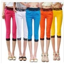Конфеты цвета мода новый стиль девушки узкие брюки (SR8229)