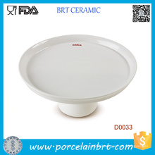 Wholesale White Simple Style Cake Plate