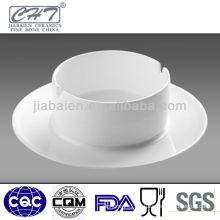"Hans collection 3"" white porcelain ashtray"