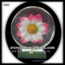 Cristal de foto de impressão colorida Y007