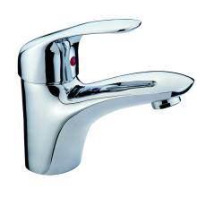 Brass vanity basin mixer faucet for wholesale