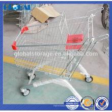Supermarkt Trolley europäischen Stil